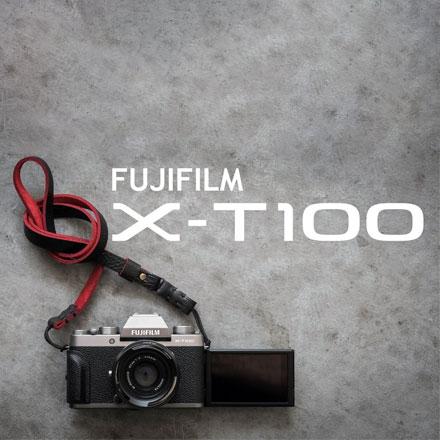 Fujifilm X-T100 + XC objektiv 15-45 f3.5-5.6 OIS - temno siv