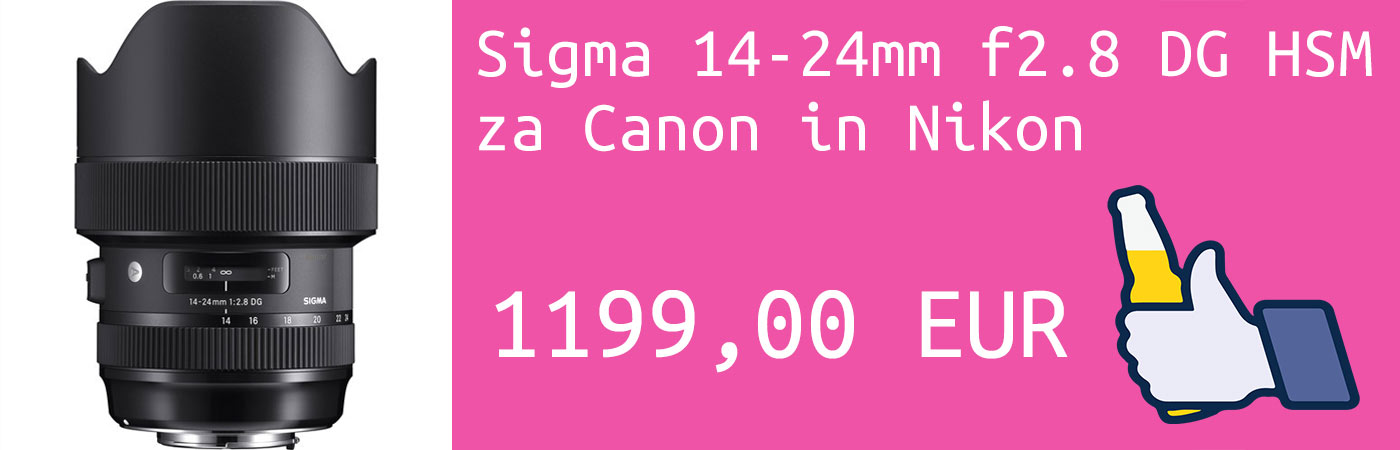 Sigma 14-24/2.8 Canon in Nikon MPC 1199 EUR