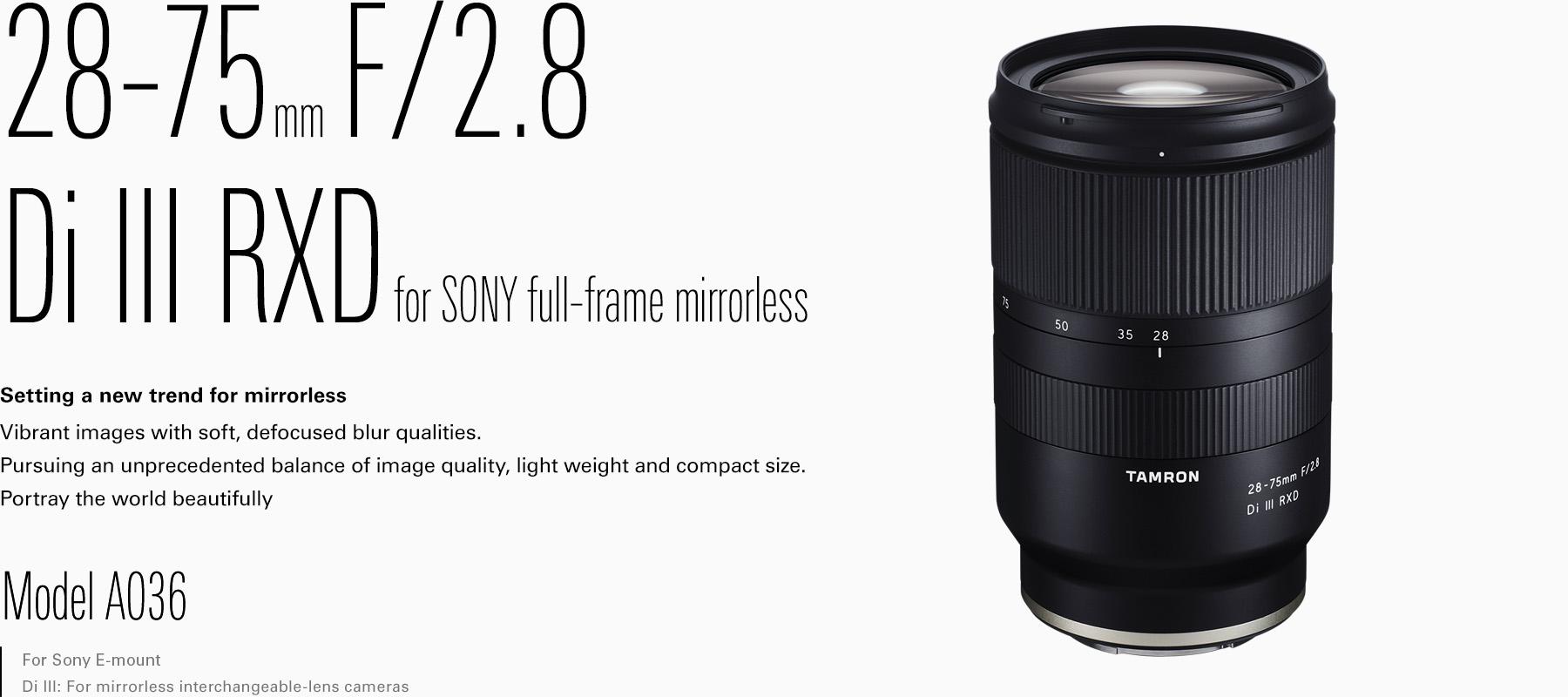 Ausgezeichnet Full Frame E Mount Objektive Ideen ...