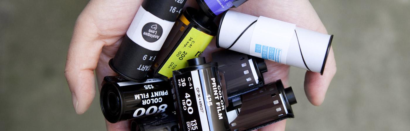 Analogna fotografija - analogni film - kategorija