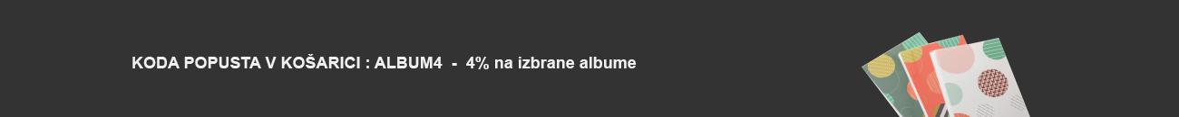 Popust s kodo na izbrane albume