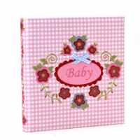 FOTO ALBUM GOLDBUCH  BABY BY GEK PINK 30X31 60 WHITE.jpg