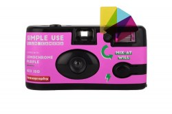 Lomography Simple Use Film Camera_LomoChrome Purple_front-500