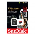 SanDisk-Extreme-PRO-microSDHC-32GB-100MBs + SD adapter-mikro-kartica-zaloga-gopro-samsung-gopro