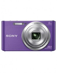 Sony digitalni fotoaparat DSC-W830 8x optični zoom - viola